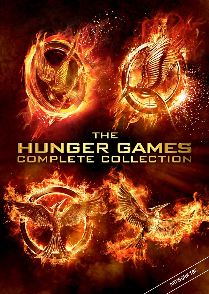 The Hunger Games Complete Collection Dvd Zavvi Com