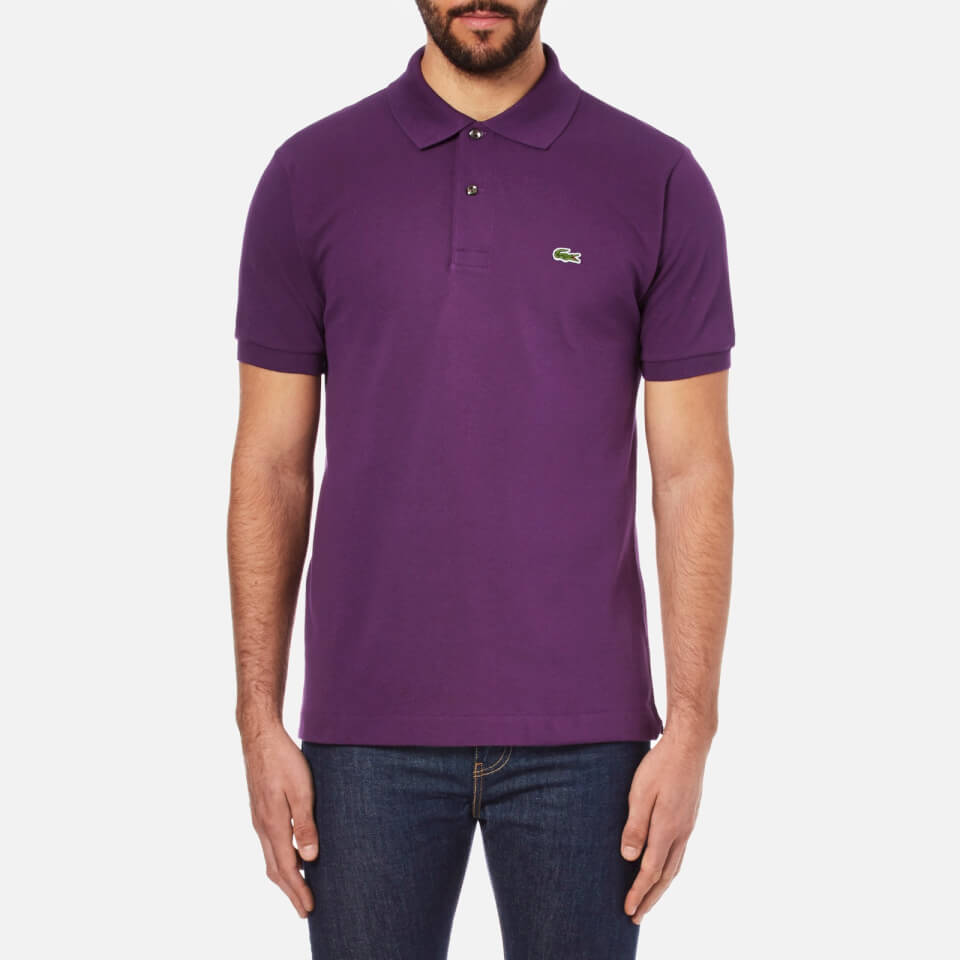 Lacoste Men 39 S Short Sleeve Pique Polo Shirt Boheme
