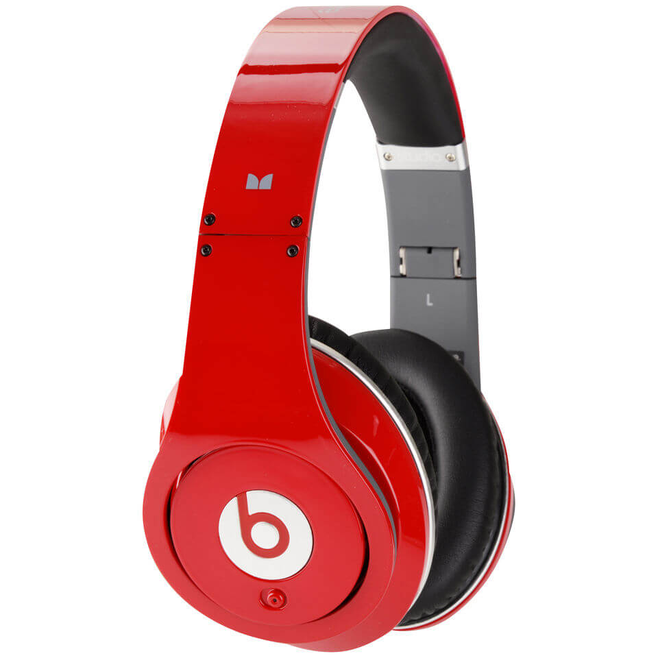 Beats by Dr. Dre: Studio Noise Cancelling Headphones - Red