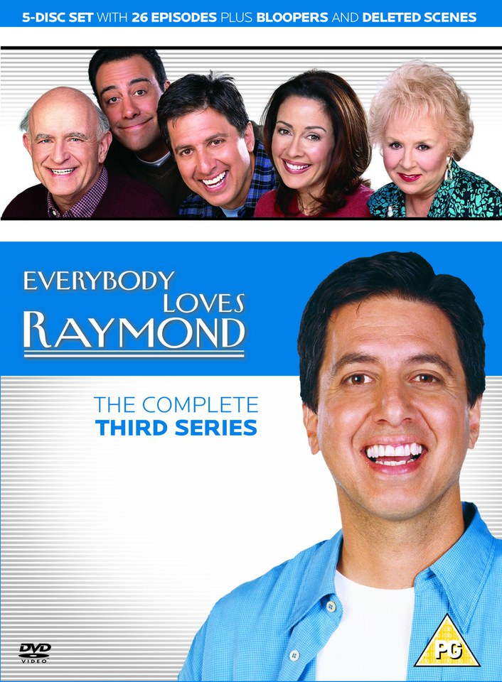 everybody loves raymond   complete season 3 dvd zavvi