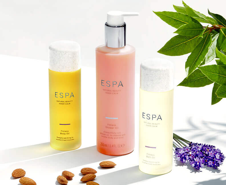 ESPA Body Oil & Shower Gel