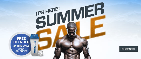 Summer Sale Plus Free Blender