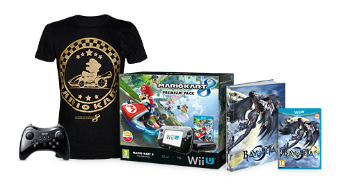 Wii U Bayonetta Action Pack