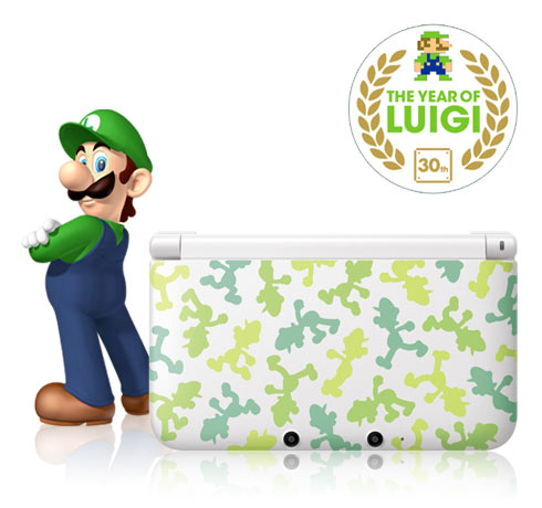 <br><br><br><br>There's a Nintendo 3DS XL LUIGI SPECIAL EDITION to be won