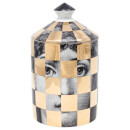 Fornasetti Scacco Gold Scented Candle 300g