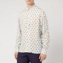 Lanvin Men's Long Sleeve Bowling Shirt - Lanvin Blue