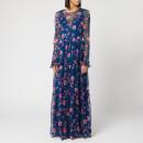 Philosophy di Lorenzo Serafini Women's Floral Print Maxi Dress - Blue