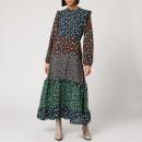 RIXO Women's Billie Dress - Mixed Ditsy Floral