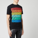 Dsquared2 Men's Multi Logo Cool Fit T-Shirt - Black