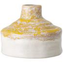 Bloomingville Reactive Glaze Vase - Yellow