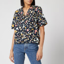 Simon Miller Women's Roa Shirt - Seaglass Print