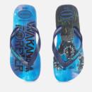 Havaianas Kids' Marvel Flip Flops - Black Panther - Navy Blue