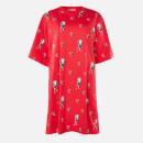 McQ Alexander McQueen Women's Botan Dress - Rouge