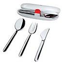 Alessi Travel Cutlery - Silver