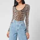 Ganni Women's Printed Body - Leopard