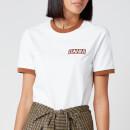 Ganni Women's Basic Cotton Logo T-Shirt - Bright White
