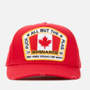 Dsquared2 Men's Flag Baseball Cap - Red