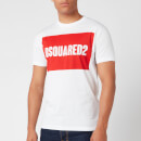 Dsquared2 Men's Cool Fit Box Logo T-Shirt - White