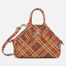 Vivienne Westwood Women's Derby Small Yasmine Bag - Brown/Tartan