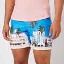 Orlebar Brown Men's Bulldog Photographic Swim Shorts - Ocean Drive