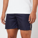 Orlebar Brown Men's Bulldog X Tonal Piping Swim Shorts - Navy