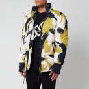 KENZO Men's Camo Puffer Jacket - Lime