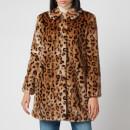 A.P.C. Women's Poupee Coat - Leopard