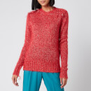 Golden Goose Deluxe Brand Women's Annamaria Melange Sweater - Tango Red