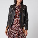 Golden Goose Deluxe Brand Women's Andrea Distressed Jacket - Black