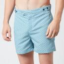 Frescobol Carioca Men's Pepe Tailored Swim Shorts - Ocean/Twilight