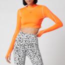 adidas by Stella McCartney Women's Truepure Crop Top - Signal Orange