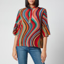 PS Paul Smith Women's Multi Stripe Shirt - Multi