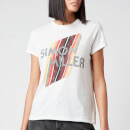 Simon Miller Women's Mesa Graphic Fitted T-Shirt - White