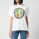 Simon Miller Women's Nana Graphic Loose T-Shirt - White