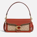 Coach New York Women's Signature/Beadchain Tabby Shoulder Bag 26 - Tan Rust