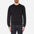 KENZO Men's Text Logo Sweatshirt - Black