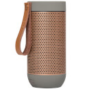 Kreafunk aFUNK 360 Degrees Bluetooth Speaker - Cool Grey/Rose Gold
