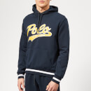Polo Ralph Lauren Men's Polo Foil Logo Hooded Sweatshirt - Navy