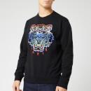 KENZO Men's Gradient Tiger Sweatshirt - Black