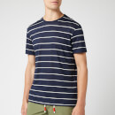 Orlebar Brown Men's Sammy Sunset Stripe T-Shirt - Navy/Cloud