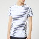 Armor Lux Men's Hoëdic Marinière T-Shirt - Blanc/Etoile
