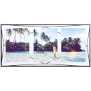 "Umbra Prisma Three Photo Frame Display - Black - 6 x 4"""