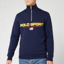 Polo Sport Ralph Lauren Men's Long Sleeve Quarter Zip - Cruise Navy