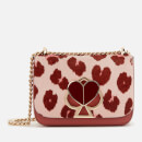 Kate Spade New York Women's Nicola Haircalf Twistlock Conv. Shoulder Bag - Pink Multi