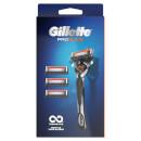 Gillette Fusion5 ProGlide Razor + 4 Blades