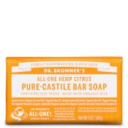 Dr Bronner's Pure Castile Bar Soap Citrus 140g