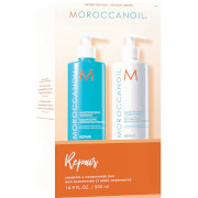 Moroccanoil Moisture Repair Shampoo & Conditioner Duo (2x500ml) (Worth £69.40)