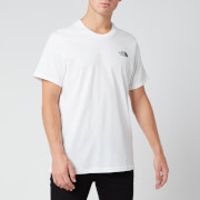 The North Face Men's Simple Dome Short Sleeve T-Shirt - TNF White