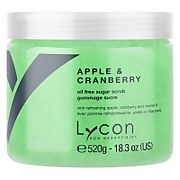 Lycon Oil Free Sugar Scrub - Apple And Cranberry 520g