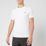 Polo Ralph Lauren Men's Custom Fit Crew Neck T-Shirt - White
